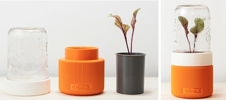 Poland Groww A 3d Printed Minimalist Greenhouse