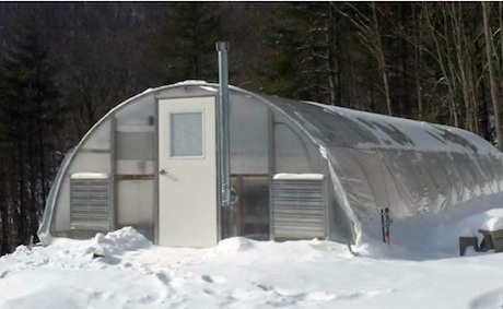 How to size a greenhouse heating system?