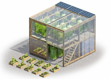 Denmark Two Story Hydroponic Garden To Serve Quot Food Deserts Quot