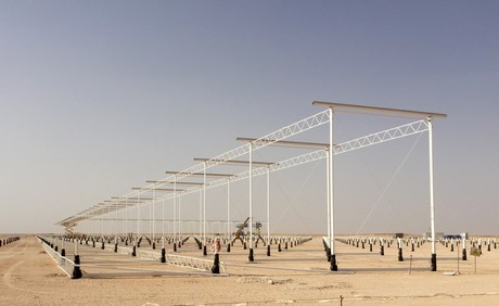 Oman Construction Of 190 Hectare Miraah Solar Project Begins