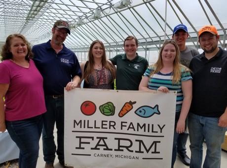 US: Michigan State Representative Beau LaFave visits Miller