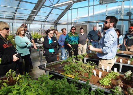 Eastern Professor Dr Kaben Smallwood Teaches An Aquaponics Certificate Course In The College S Greenhouse Incubator Program Includes 20